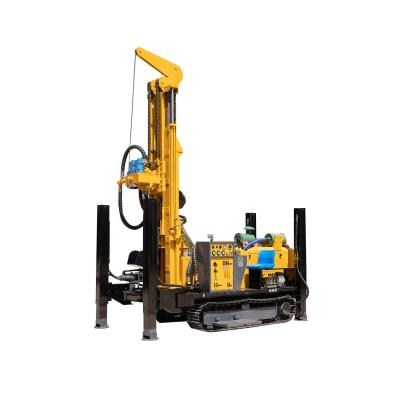 200m borehole drilling machine/water well drilling rig for sale
